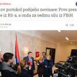 MEDIJSKI SPIN Portal Kliks zloupotrijebio gostoprimstvo predsjedavajućeg Predsjedništva BiH