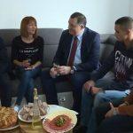 Dodik posjetio Slađanu Crkvenjaš, sestru Slobodana Stojanovića