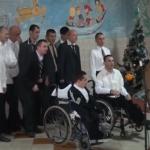 Novogodišnja zabava u Domu za dječake i muškarce ometene u razvoju (VIDEO)