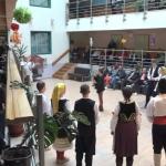 Novogodišnja zabava za stanovnike Doma za starija lica (VIDEO)