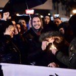 Huligani predvođeni Stanivukovićem prekinuli koncert (VIDEO/FOTO)