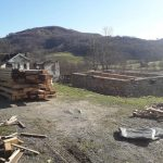 U Hašane stigli dijelovi za drvenu konstrukciju replike rodne kuće Branka Ćopića