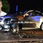 Fudbaler Luka Jović doživio saobraćajnu nesreću FOTO