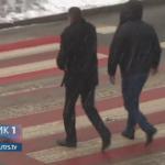 Prijedor: Tri pješačka prelaza obojena crveno-bijelo (VIDEO)