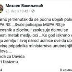 Na društvenim mrežama poziviju na napade na policiju Srpske (FOTO)