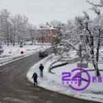 Narednih dana padaće snijeg, evo kada se očekuju TEMPERATURNI MINUSI