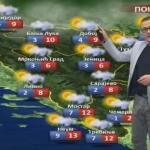 U ponedjeljak jače naoblačenje sa padavinama (VIDEO)