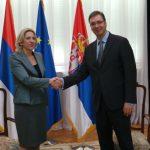 Predsjednica Srpske održala obećanje: Prvi zvanični sastanak sa Vučićem