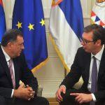 Dodik sutra kod Vučića