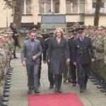 """Cvijanovićeva i Dodik na božićnom prijemu u kasarni """"Kozara"""" (FOTO i VIDEO)"""