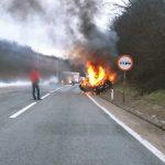 UGLJENISANO TIJELO Policija ne može da utvrdi ko je vozač koji je izgorio u saobraćajnoj nesreći kod Banjaluke