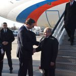 (UŽIVO) PUTIN U POSJETI BEOGRADU Ruskog predsjednika dočekao Vučić (FOTO, VIDEO)