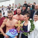Litija i bogojavljensko plivanje za Časni krst okupilo nekoliko hiljada Prijedorčana (VIDEO)