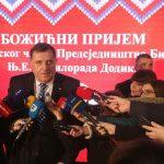 Dodik na BOŽIĆNOM PRIJEMU: Srpska NE ODUSTAJE od proslave 9. januara (FOTO)