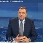 Dodik za RTS: SDA povukao nestrpljiv potez, ataci na Srpsku neće proći (VIDEO)