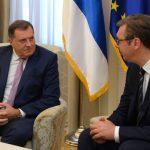 Dodik uputio rođendansku čestitku Vučiću