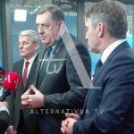 Dodik: Put ka EU nije uslovljen putem u NATO VIDEO