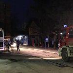U Prijedoru se zapalio autobus