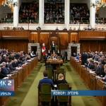 Peticija Bošnjaka u parlamentu Kanade; Srpska zajednica u kampanji