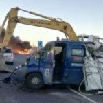 Nezapamćena pljačka: Rovokopačima otvorili blindirano vozilo VIDEO
