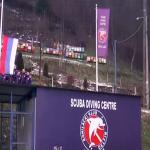 "Ronilački klub ""Delfin"" uz himnu Srpske obilježio Dan Republike (VIDEO)"