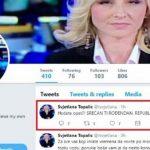 Napadi iz FBiH: Prijetnje smrću Svjetlani Topalić zbog čestitke Dana Republike