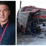 """VOZAČ """"AUTOBUSA SMRTI"""" IZA REŠETAKA Pravda se da je pogledao lijevo i desno na prelazu da li ide voz, snimci sa kamera ga DEMANTUJU"""