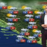 U petak promjenljivo oblačno i vjetrovito (VIDEO)