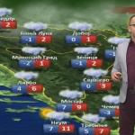 U subotu oblačno sa kišom, susnježicom i snijegom (VIDEO)