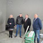 Gradonačelnik u obilasku radova na obnovi škole u Rasavcima (FOTO i VIDEO)