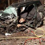TEŠKA NESREĆA U BUSOVAČI Povrijeđene dvije osobe, vatrogasci spasavali mladića priklještenog u automobilu