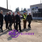 Gradonačelnik Đaković posjetio gradilište nove sportske dvorane (FOTO)
