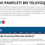 Infosrpska: Novi pamfleti BN televizije