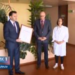 """Sertifikat """"Prijatelja beba"""" prijedorskoj bolnici (VIDEO)"""