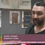 Slikarska radionica akademskog slikara Borisa Eremića (VIDEO)