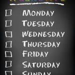 Ponedeljak, utorak, sreda… Koji je vaš dan u nedelji?