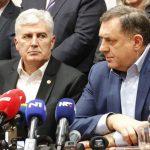 Dodik i Čović pozvali bošnjačke predstavnike da se formira vlast (FOTO/VIDEO)