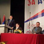 Dodik: Podrška ideji bolje budućnosti Doboja i Srpske