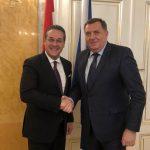 Dodik-Štrahe: Јačati odnose Austrije i Srpske (VIDEO)