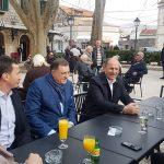 Na putu do Mostara Dodik odmorio u Trebinju (FOTO)