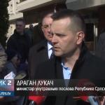Lukač o obezbjeđenju Milorada Dodika (VIDEO)