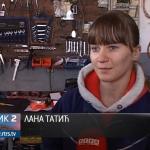 Učenica iz Dubice, Lana Tatić, jedina djevojka automehaničar (VIDEO)