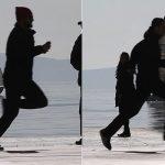 POGLEDAJTE ŠOKANTNU SNIMKU SA SPLITSKE RIVE Ovo je dramatičan trenutak kada su dvojica huligana u trku navalila prema Zvezdinim vaterpolistima (VIDEO)