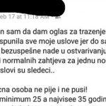 HIT NA INTERNETU Crnogorac objavio KONKURS ZA DJEVOJKU SVOJIH SNOVA, a ovo su kriterijumi (FOTO)