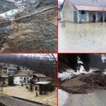 STANOVNICI OČAJNI Gornjevakufska civilna zaštita evakuiše porodice, u Zenici ugroženo 40 kuća, bujica u Bugojnu odnijela most (FOTO, VIDEO)