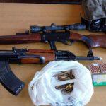 PU Prijedor: Zaplijenjene puške i pištolji