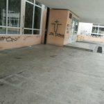 Split: Na školi osvanuli antisrpski i ustaški simboli