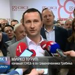 Trebinje dobilo novog gradonačelnika, na čelu grada Mirko Ćurić (VIDEO)