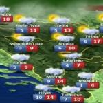 U nedjelju pretežno oblačno, ponegdje uz obilnije padavine (VIDEO)