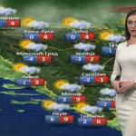 U utorak oblačno sa kišom i snijegom (VIDEO)